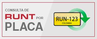Consulta de RUNT por Placa